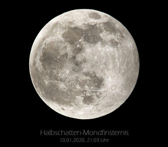 Halbschatten-Mondfinsternis