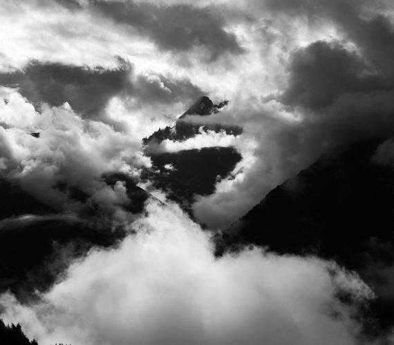Wolken in Lüsen