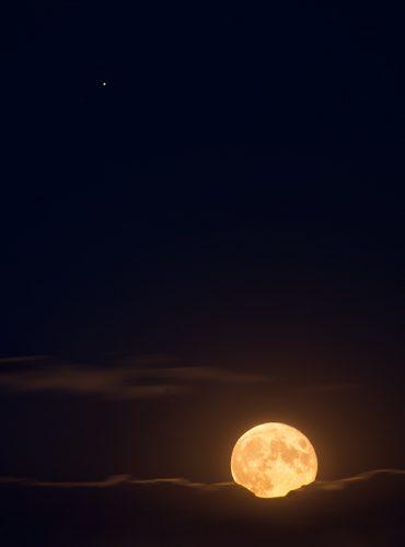 Mond & Jupiter